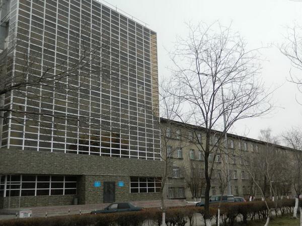 Фасад ВУЗа